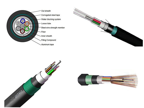 Gyta53 Loose Tube Direct Burial Outdoor Fiber Optic Cable