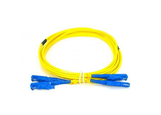 E2000-E2000 Duplex Fiber Optic Patch Cords Premium Quality SM 9/125