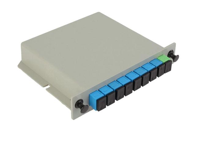 Customized LGX Fiber Optic PLC Splitter 1260 ~ 1650nm Wavelength