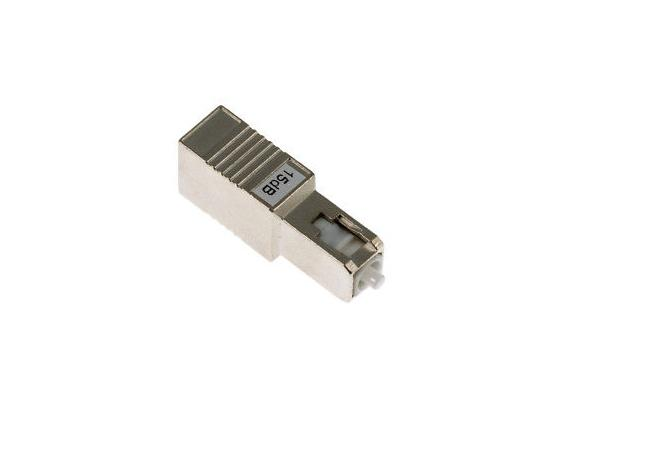 Female to Male 1310/1550nm Singlemode Fiber Optic Attenuator with SC Connectors - UPC Polish