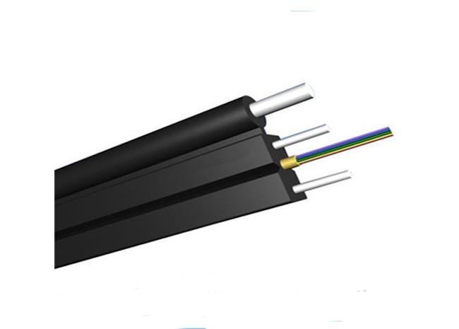 Self Supporting with FRP OR Steel Messenger G657A1 OR G657A2 FTTH Outdoor Cable