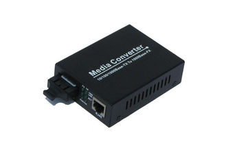 China Dual Gigabit Fiber Optic Media Converter Multimode 224m / 550m For Industrial supplier