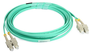 China SC UPC Duplex Fiber Optic Patch Cord Single Mode And Multimode Fiber Optic Cable supplier