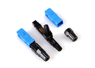 China SC / UPC Fiber Optic Fast Connector for FTTH Projects Field Termination supplier