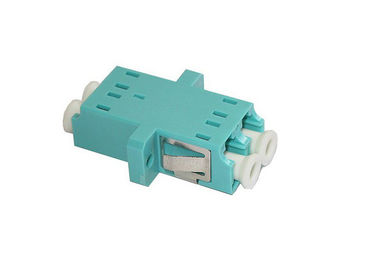 China 10Gb OM3 Duplex SC Footprint LC Fiber Optic Adapter With Flange or Without Flange supplier