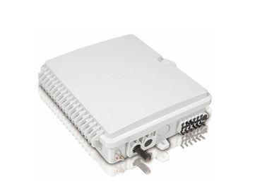 China Rohs Compliant 12c Accommodate 1*8 Plc Splitter Pole Or Wall Mounted Fiber Optic Terminal Box supplier