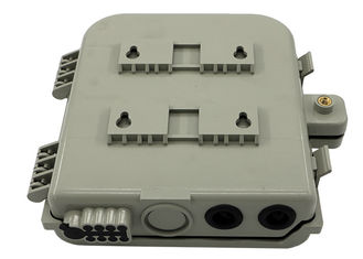 China ABS+PC 8C Fiber Optic Pole or Wall Mounted Fiber Optic Distribution Box supplier