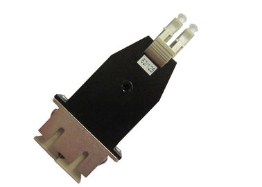 China Singlemode Or Multimode Lc Male To Sc Female Fiber Optic Hybrid Adapter With supplier