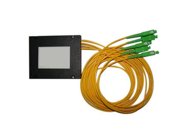 China Singlemode Abs Box Triple Window 1310 / 1490nm / 1550nm Fbt Splitter 1:99 With 2.0mm, 3.0mm Cable supplier