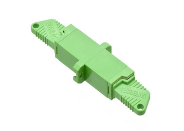 China E2000 Fiber Optic Cable Adapter Singlemode / Multimode Insertion Ceramic Sleeve Simplex supplier