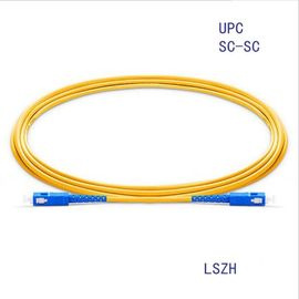China SC/Upc-SC/Upc Simplex 9/125um Sm Optical Fiber Cable supplier