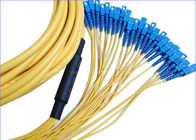 China 12 Core 24 Core SC-SC Fiber Patch Cord for Communication Network And CATV factory