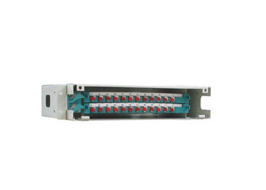 "19"" Rack Mounted Optical Distribution Frame 12-144c With 12ports Lc/ Fc / Sc / St Splice Tray Sliding"